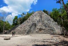Ancient mayan city Coba in Mexico Royalty Free Stock Photography