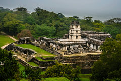The ancient Mayan city Royalty Free Stock Photo