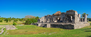 Ancient Mayan city Tulum, Mexico Stock Photography