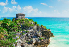 Ancient Mayan city Tulum, Mexico Stock Photos