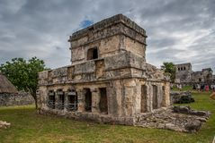 Stunning tulum mexico ancient civilization royalty free stock photo