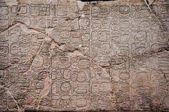 Free Ancient Mayan Glyphs Stock Photography - 165875932