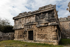Ancient Mayan governmental palace in Chichen Itza Stock Photography