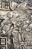Ancient Mayan hieroglyphics Stock Images