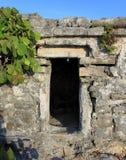 Ancient Mayan house Stock Photos