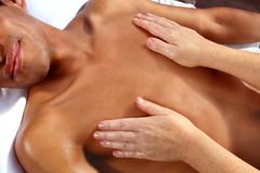 Ancient Mayan massage therapy Reiki Maya Stock Image