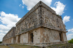 Ancient Mayan palace Royalty Free Stock Photo