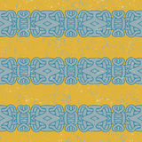 Ancient mayan pattern Royalty Free Stock Images