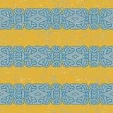 Ancient mayan pattern Royalty Free Stock Images