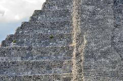 Ancient Mayan pyramid Kukulcan temple in Chichen Itza, Mexico. Stock Photography