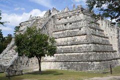 Ancient Mayan ruins Royalty Free Stock Photos
