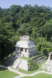 Ancient Mayan ruins royalty free stock photo