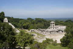 Ancient Mayan ruins Stock Photos