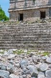 Ancient Mayan Ruins at Chichen Itza, Mexico. Ancient Mayan Ruins at Chichen Itza, Yucatan, Mexico Royalty Free Stock Images