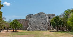 Ancient Mayan Ruins at Chichen Itza, Mexico. Ancient Mayan Ruins at Chichen Itza, Yucatan, Mexico Royalty Free Stock Photo