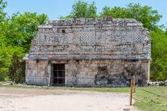 Ancient Mayan Ruins at Chichen Itza, Mexico. Ancient Mayan Ruins at Chichen Itza, Yucatan, Mexico Stock Images