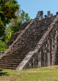 Ancient Mayan Ruins at Chichen Itza, Mexico. Ancient Mayan Ruins at Chichen Itza, Yucatan, Mexico Stock Image