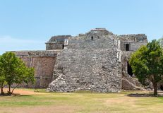 Ancient Mayan Ruins at Chichen Itza, Mexico. Ancient Mayan Ruins at Chichen Itza, Yucatan, Mexico Stock Photo