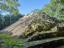 Ancient mayan ruins of Coba, Yucatan peninsula Mexico Royalty Free Stock Photos