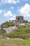 Ancient Mayan ruins in Tulum, Mexico Royalty Free Stock Photo