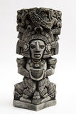 Ancient Mayan sculpture Stock Image