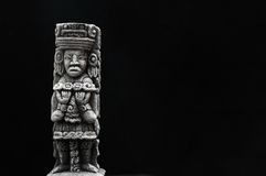 Ancient Mayan Statue Royalty Free Stock Image