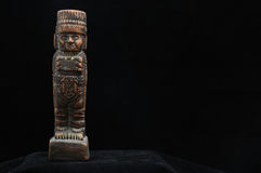 Ancient Mayan Statue Stock Photography