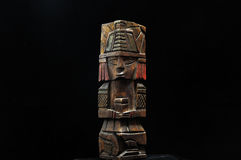 Ancient Mayan Statue Royalty Free Stock Images
