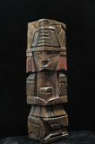 Ancient Mayan Statue Royalty Free Stock Photography