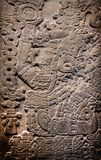 Ancient Mayan stone carving Stock Image