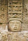 Ancient Mayan stone sculpture Stock Image