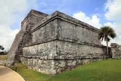 Ancient Mayan stone temple Stock Photo