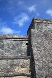 Ancient Mayan stone temple Royalty Free Stock Photos