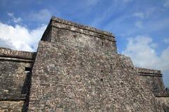 Ancient Mayan stone temple Stock Photos