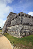Ancient Mayan stone temple Royalty Free Stock Photography