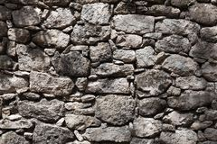 Ancient Mayan stonework Stock Image
