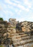 Ancient Mayan Temple Royalty Free Stock Image