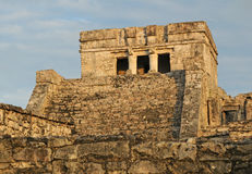 Ancient Mayan Temple for Ceremonies Stock Images
