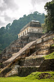 The Ancient Mayan Temple in Palenque Royalty Free Stock Photography