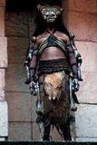 Ancient Mayan Warrior Royalty Free Stock Photography