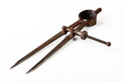 Ancient measuring tool Royalty Free Stock Image