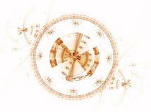 Ancient mechanism, metallic cogwheel Royalty Free Stock Photography