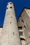 Ancient medieval bell tower in Italy Royalty Free Stock Photography