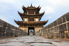 Ancient medieval bridge in China Royalty Free Stock Photography