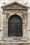 Ancient medieval door Stock Photography