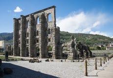 Ancient medieval ruins Royalty Free Stock Photo