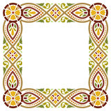 Ancient medieval style frame Stock Image
