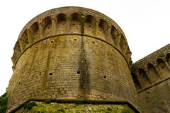 Ancient medieval tower Royalty Free Stock Images