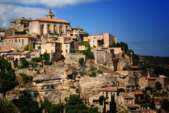 Ancient Medieval Town Stock Photo