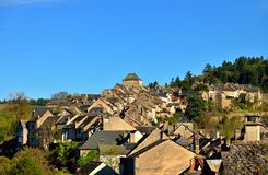 Ancient medieval town of Najac Stock Photography